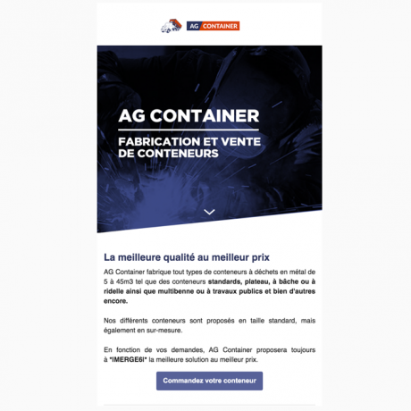Emails - AG Container